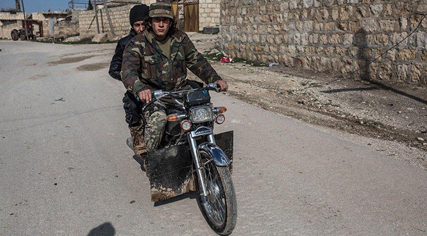 YPG'li teröristlerden kurtarılan Kastel Cindo köyü böyle görüntülendi