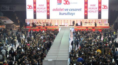 CHP Parti Meclisi seçim sonuçları… 7 isim listeyi deldi