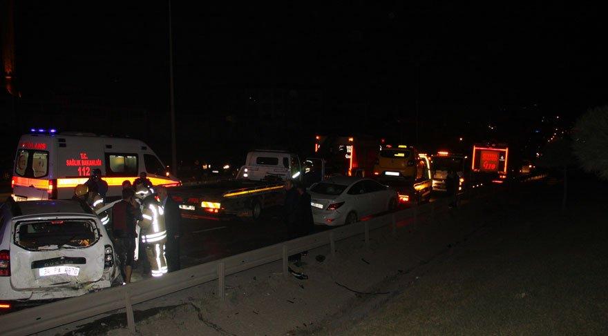 Esenyurt'ta zincirleme kaza! 12 yaralı