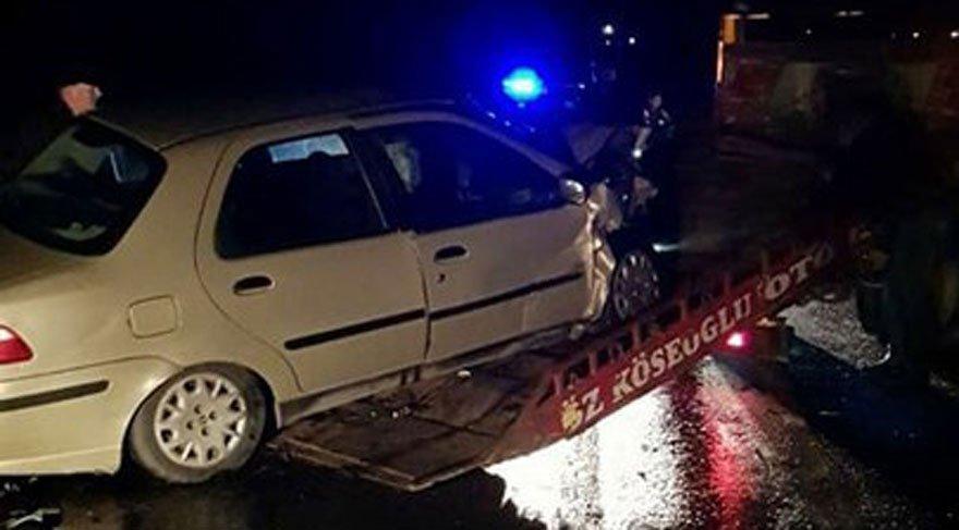Hayrabolu'da trafik kazası! Bir ölü, 3 yaralı