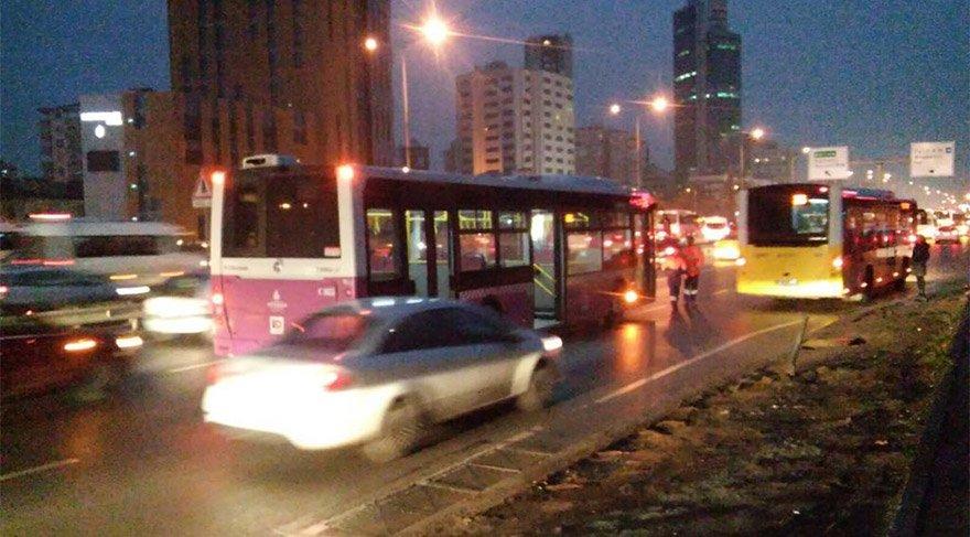 Kadıköy'de dehşet anları! Özel Halk Otobüsü şoförüne kurşun yağmuru