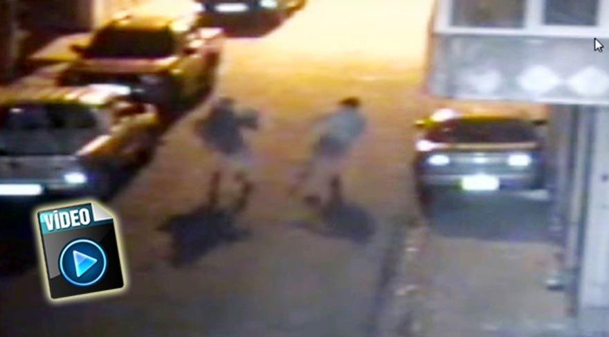 Rize'deki kapkaç anı güvenlik kamerasına yansıdı