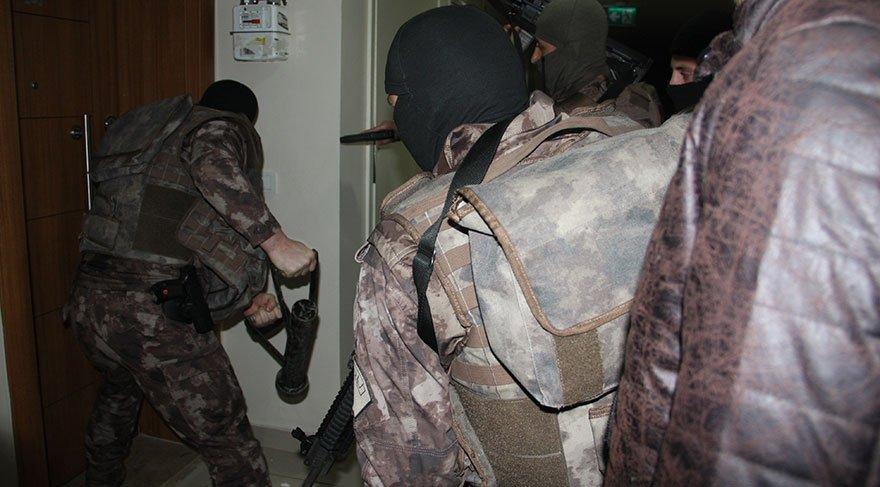 Esenyurt'ta lüks sitede uyuşturucu operasyonu