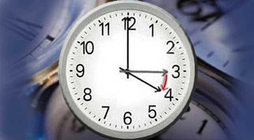 Yaz saati Avrupa'da da bitiyor mu?