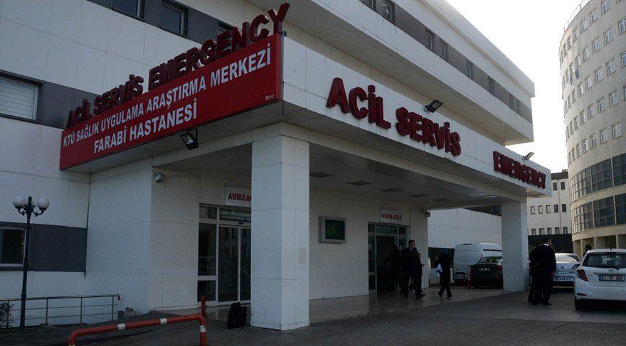 Akçaabat'ta şarbon şüphesi üzerine çok sayıda kişi hastaneye başvurdu