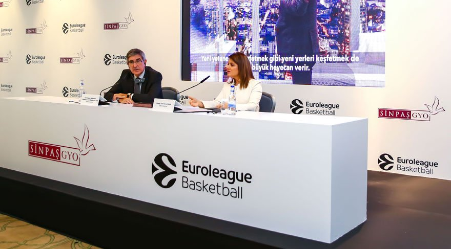 Sinpaş GYO, Euroleague Basketbol'a sponsor oldu