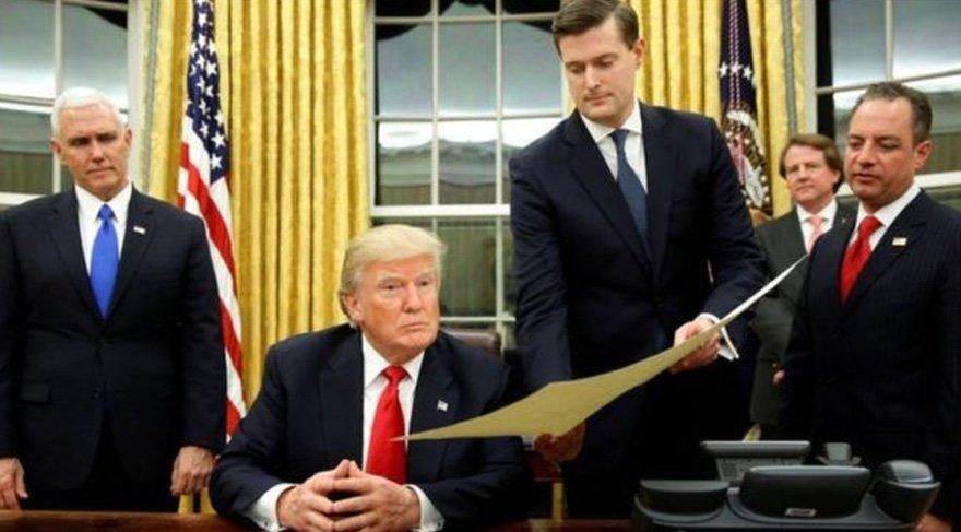 Trump'ın danışmanı gerçek ortaya çıkınca istifa etti