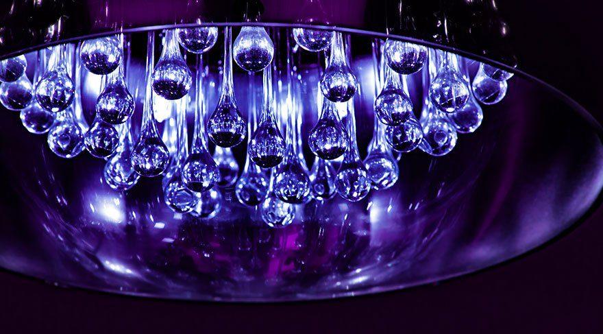 Dekorasyonda senenin rengi: Ultra violet