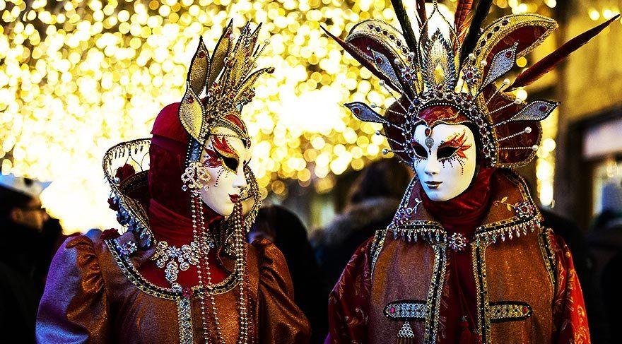 Vebadan eğlenceye: Venedik Karnavalı