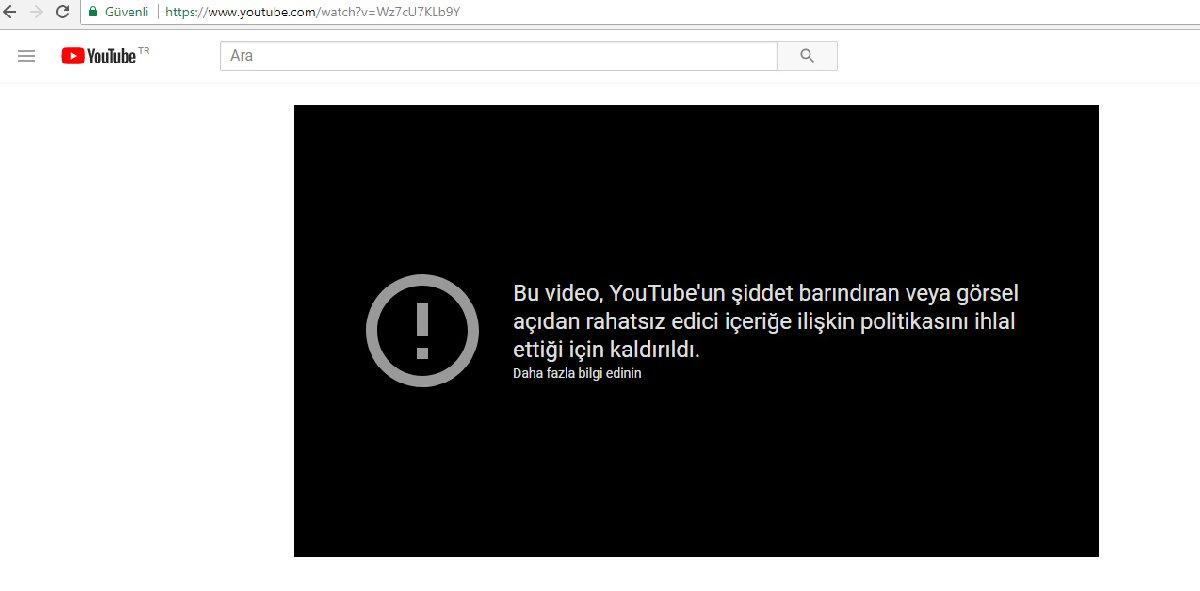 youtube sansür son dakika haberleri