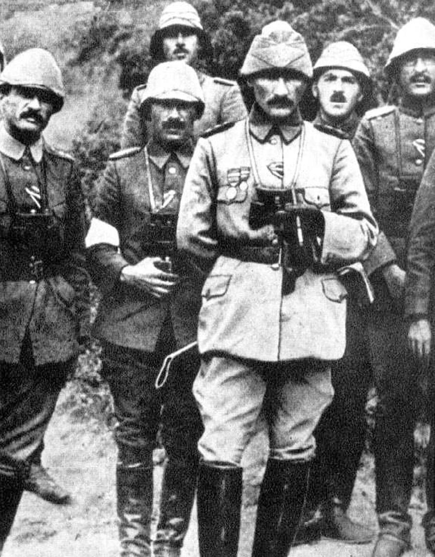"""""""Çanakkale Kahramanı"""" Mustafa Kemal Atatürk"""