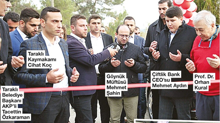 AKP'li başkan da CHP'li başkan da kaymakam da müftü de orada