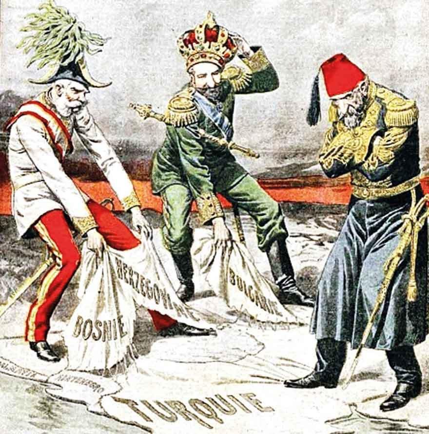II. Abdülhamit döneminde Osmanlı'nın Avrupa topraklarının önemli bir bölümü kaybedilmişti.