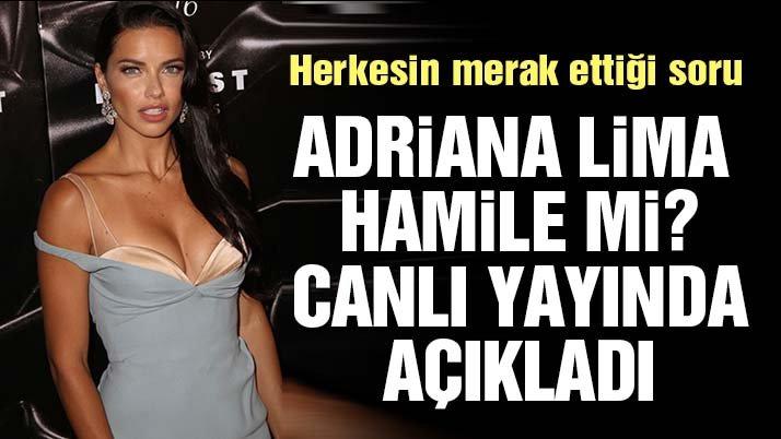 Metin Hara açıkladı Adriana Lima, hamile değil