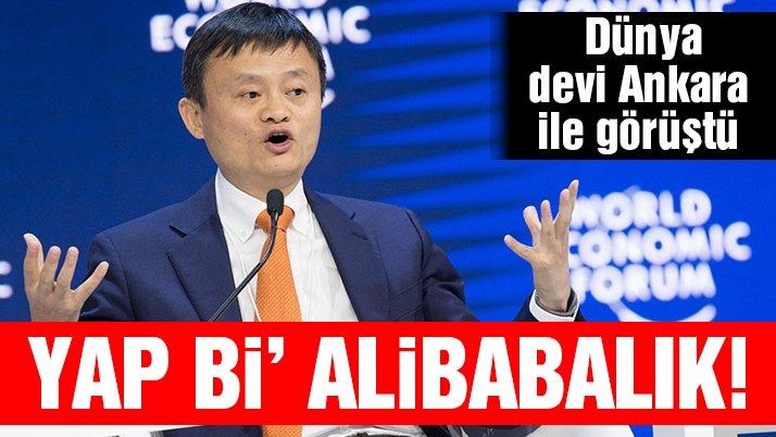 Yap bi 'Alibaba'lık!