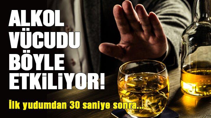 Alkol vücudu nasıl etkiliyor?