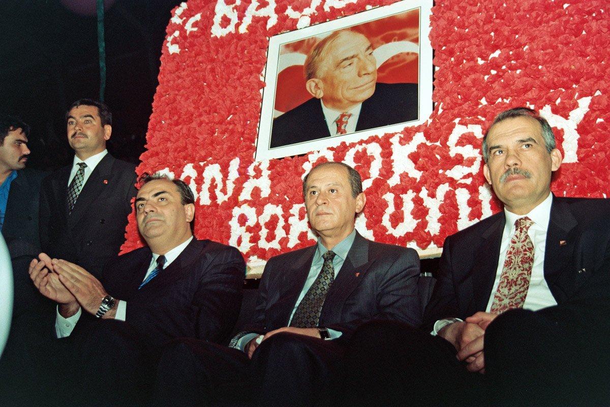 FOTO:depophotos - MHP lideri Bahçeli, 6 Temmuz 1997'den beri MHP Genel Başkanlığı koltuğunda oturuyor.