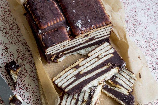Bisküvili pasta tarifi: Pudingli bisküvili pasta nasıl yapılır ...