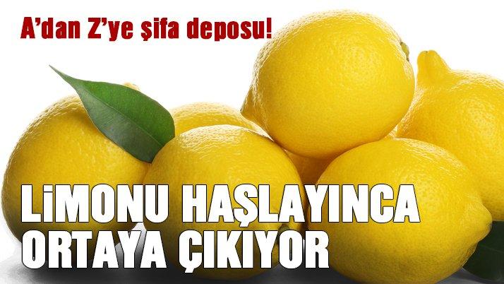 Haşlanmış limonun mucizevi faydaları