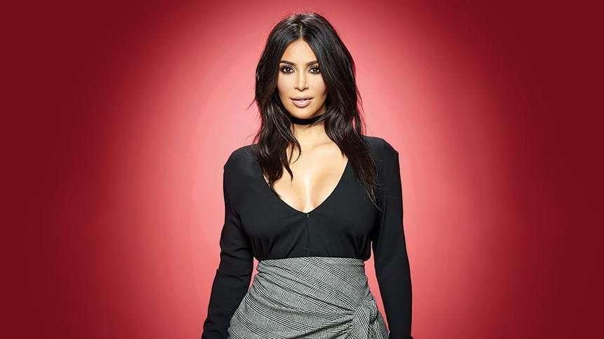 Kim Kardashian kıyafetiyle bu defa çok şaşırttı