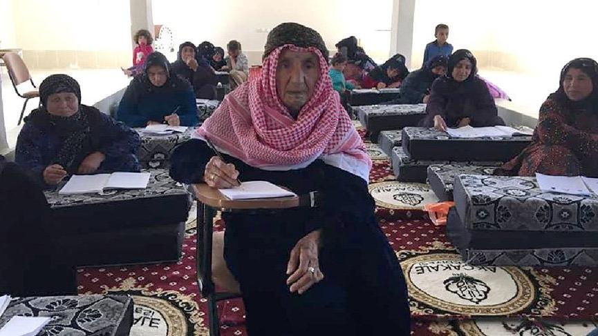 100 yıldan fazla gecikti ama vazgeçmedi! 109 yaşında okuma-yazma öğreniyor