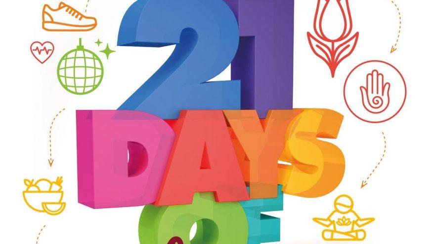 İyi hissetmek isteyenlere 21 gün etkinlik