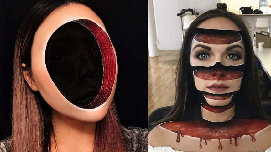 Mimi Choi'den şaşırtan makyaj uygulamaları