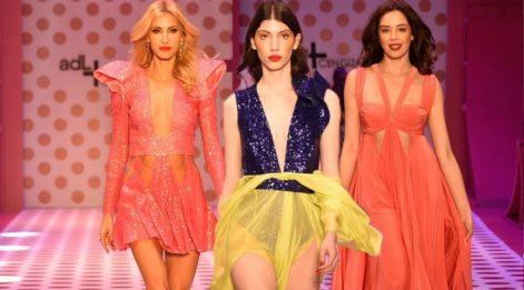 adL + Cengiz Abazoğlu defilesinde güzeller renklerle dans etti