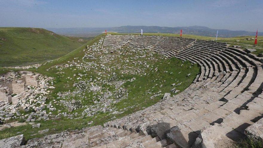 Antik tiyatro bin 600 yıl sonra tekrar ayağa kaldırılacak