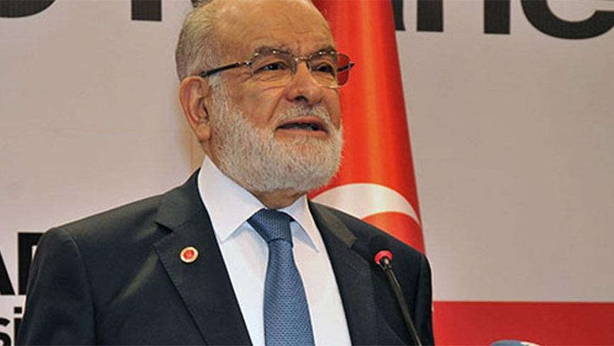 Karamollaoğlu'ndan seçim ittifakı yasasına yönelik hükümete sert eleştiriler