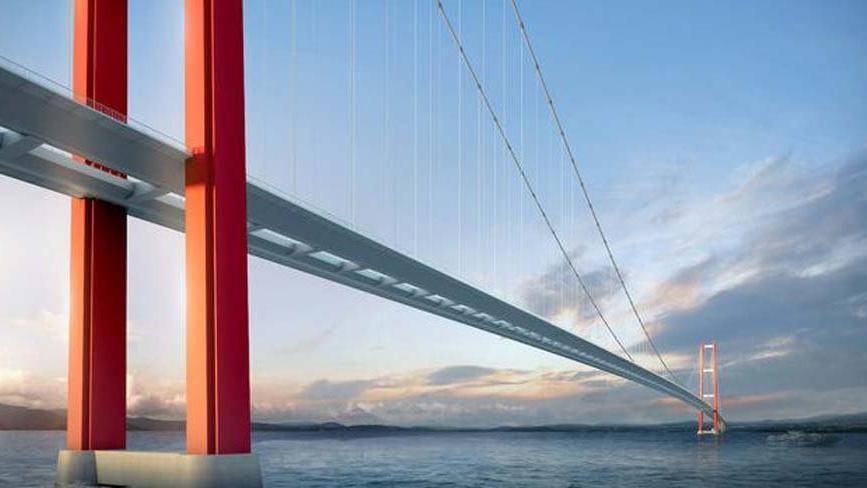 Çanakkale Köprüsü ve Otoyolu projesi için finansman sağlandı