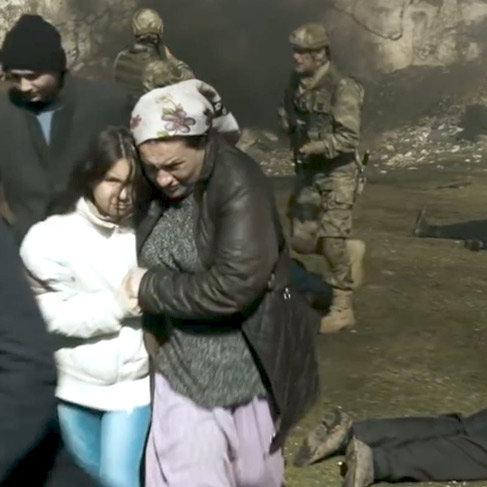 Bordo Bereliler bu kez Afrin'de