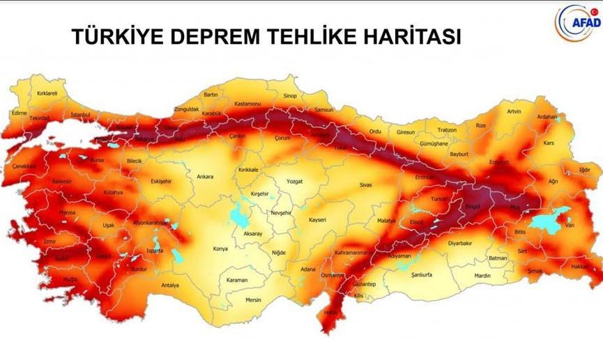 """JMO'dan """"Deprem Tehlike Haritası"""" açıklaması"""