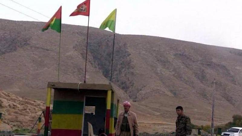 Sincar'a operasyon! PKK'nın paçavraları kaldırıldı