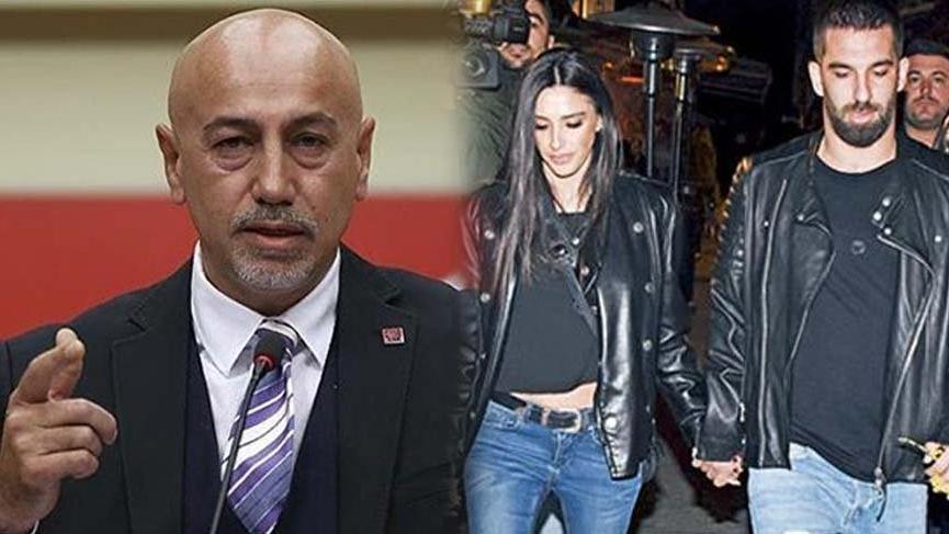 """CHP'li Erdal Aksünger'den Arda Turan'a cevap! """"Kesinlikle ahlaksızsın"""""""