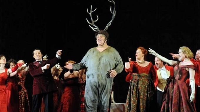 Verdi'nin son başyapıtı Falstaff operası perde açıyor