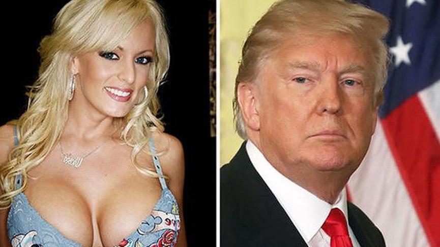 Donald Trump cinsel ilişkiye girdiği Stormy Daniels'e dava açtı