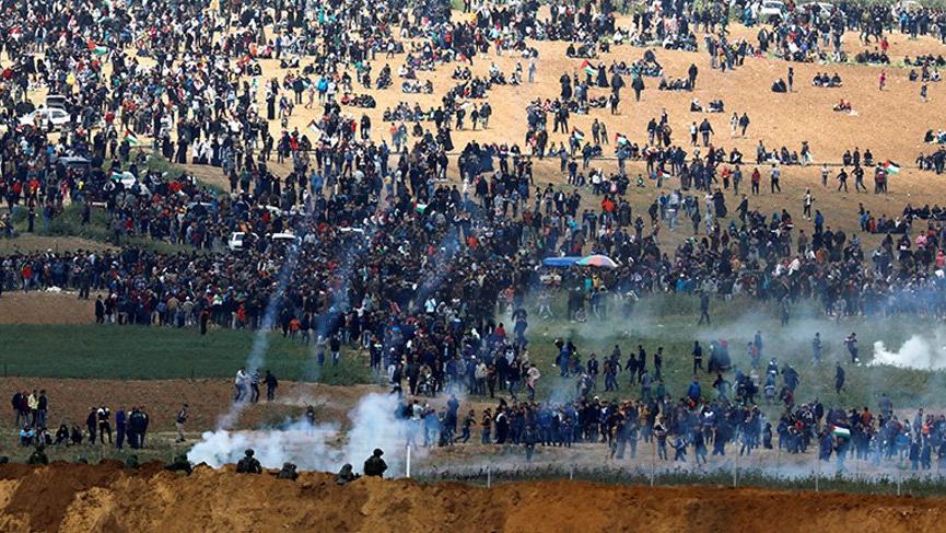 İsrail-Gazze sınırında büyük gerginlik: Ölü ve yaralılar var