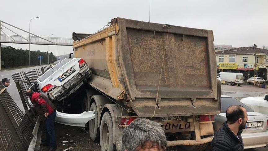 Vali Şahin'den hafriyat kamyonu açıklaması