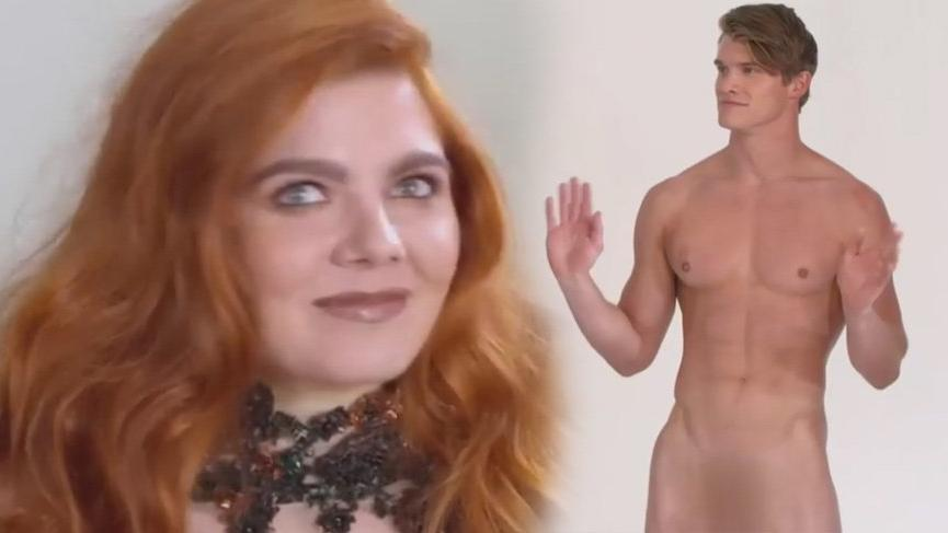 Heidi Klum'un programında çıplak modelli sahneler