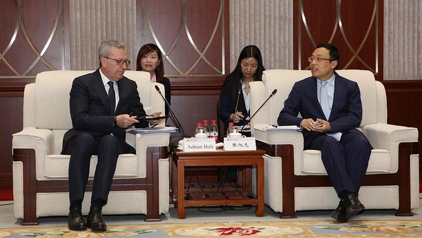 İş Bankası ile Çin Kalkınma Bankası arasında işbirliği