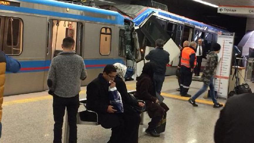 İstanbul'dan son dakika haberi! Tramvaylar çarpıştı