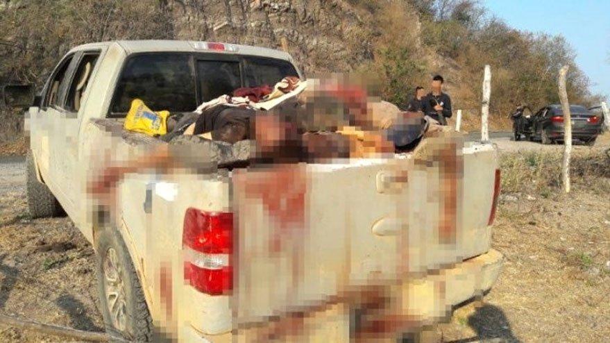 Meksika'da korkunç infaz! Kamyonet kasasında kurşunlanarak işkence edilmiş 15 ceset bulundu