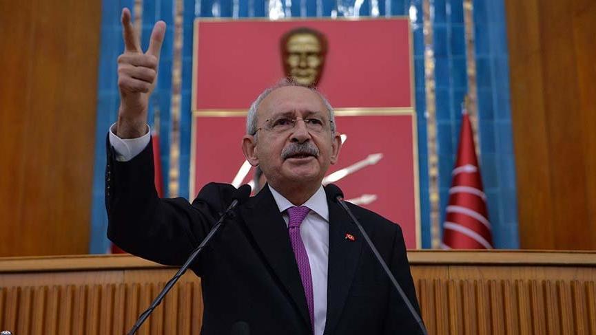 Kılıçdaroğlu: 'FETÖ'nün bir numaralı siyasi ayağı Cumhurbaşkanlığı makamını işgal eden zattır'