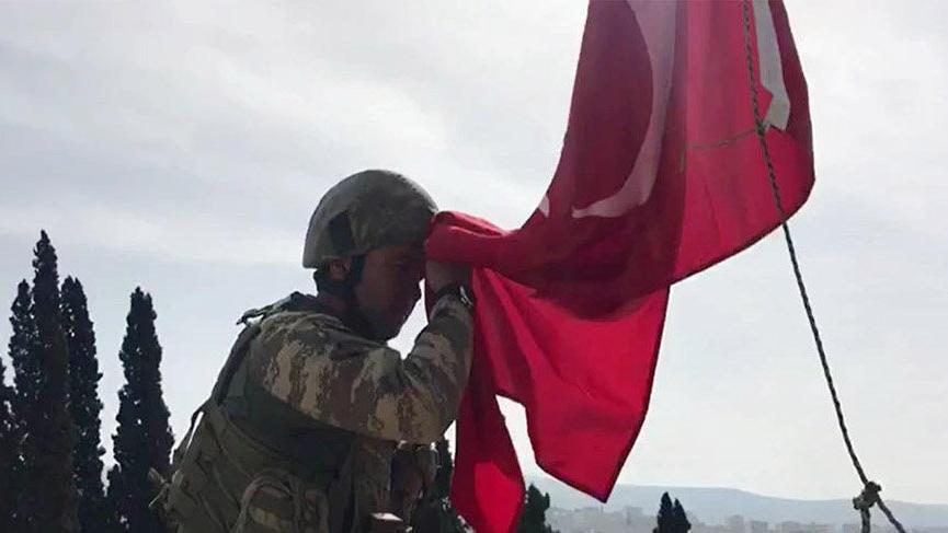 TSK ve ÖSO, Zeytin Dalı Harekatı'nın 58'inci gününde Afrin'de kontrolü sağladı