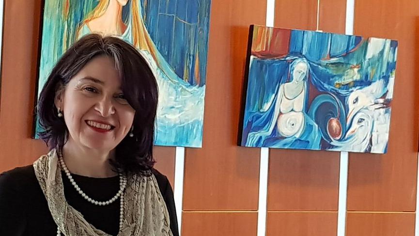Mavili Şiirler 2 sergisi Caddebostan Kültür Merkezi'nde
