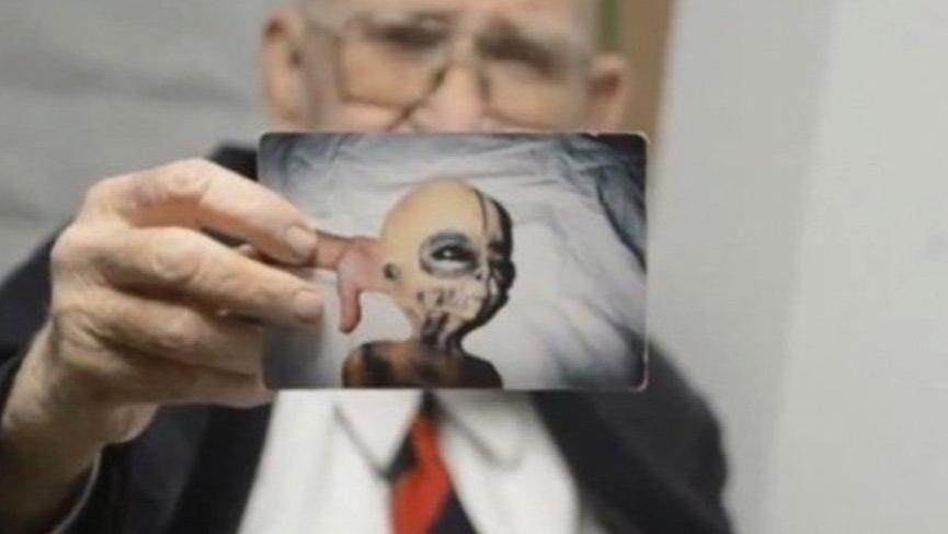 51. Bölge çalışanı, uzaylıları kanıtlarıyla anlattı