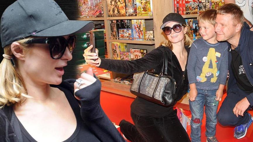 Paris Hilton, 2 milyon dolarlık yüzüğüyle İstanbul'dan geçti
