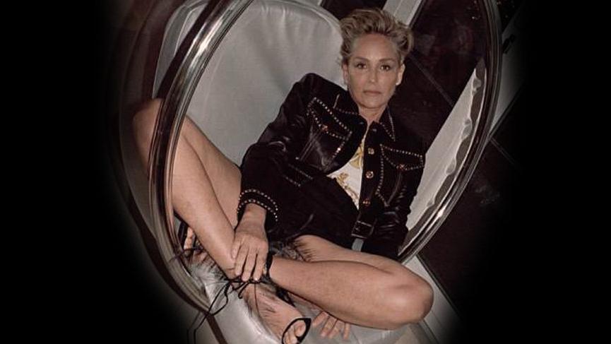 Sharon Stone'dan 60 yaş fotoğrafları