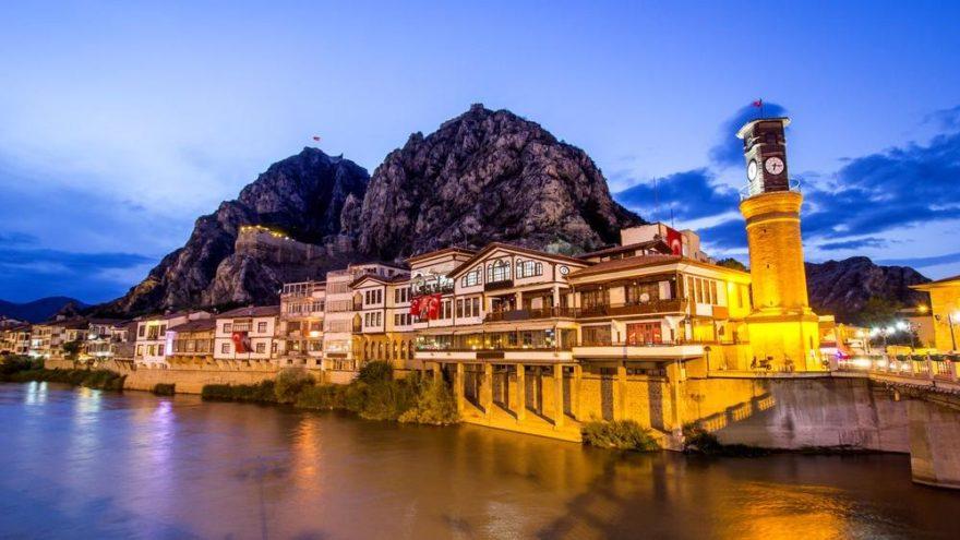 Amasya'nın tarihi yerleri ve doğal güzellikleri… İşte Amasya'da gezilecek yerler…